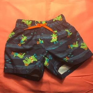 0-3 months baby boys swim trunks
